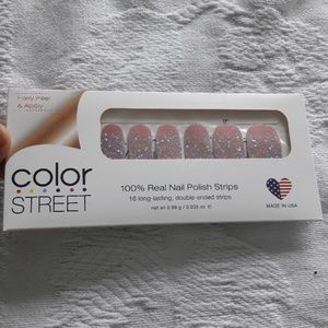 Paris couture color street nails glitter dipped